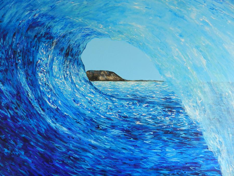 Anuska, Salitre exposición de pintura | Macaronesia Fuerteventura