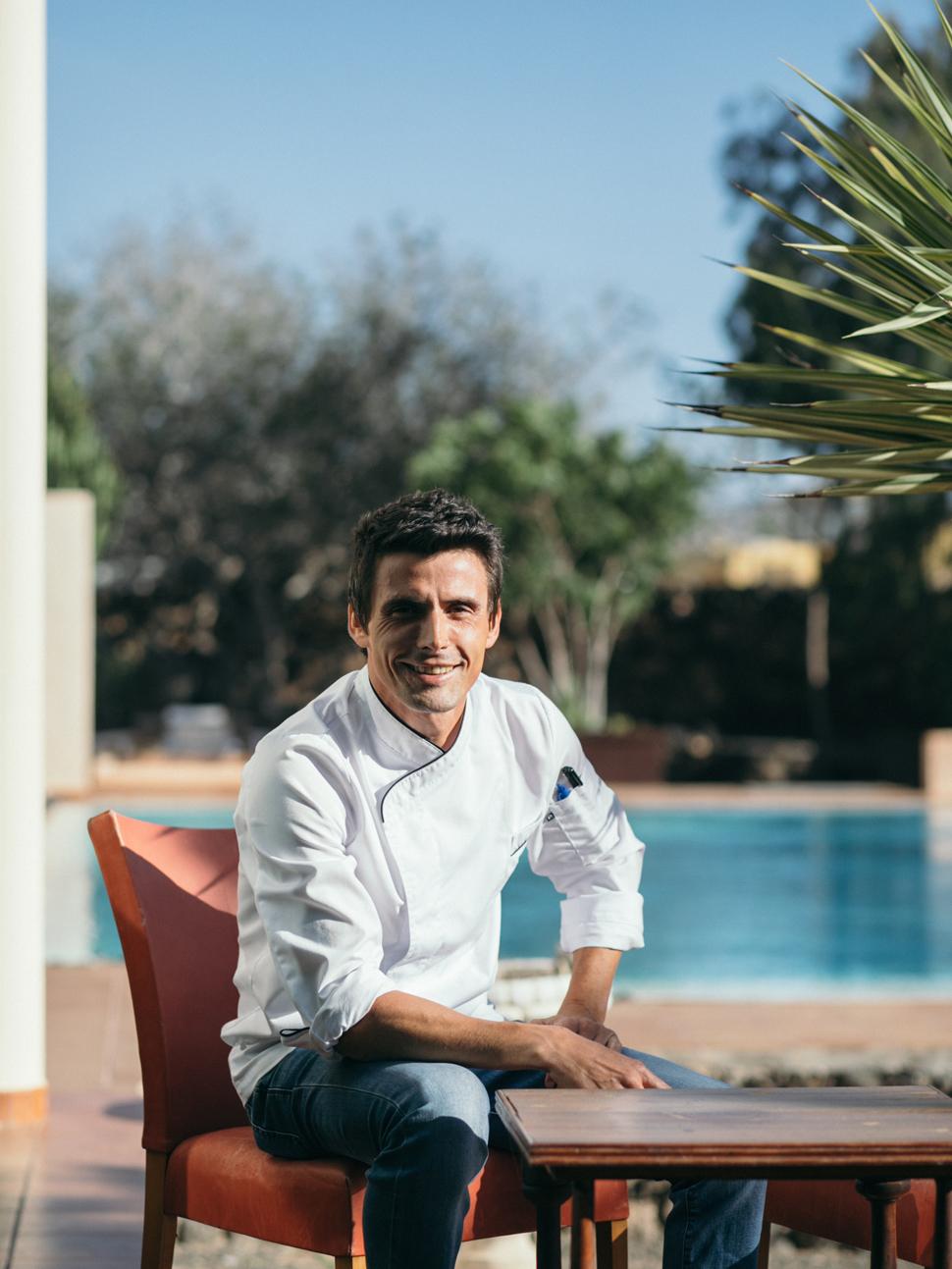 ISRAEL FRANCO ZUBIAGA Chef de El Patio de Lajares | Macaronesia Fuerteventura