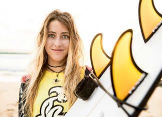 Andrea Buch, promesa del surf | Macaronesia Fuerteventura