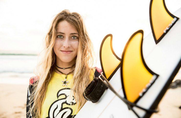 Andrea Buch, promesa del surf   Macaronesia Fuerteventura