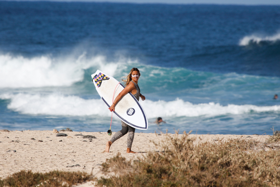 Surferas: Gala Pereda | Macaronesia Fuerteventura