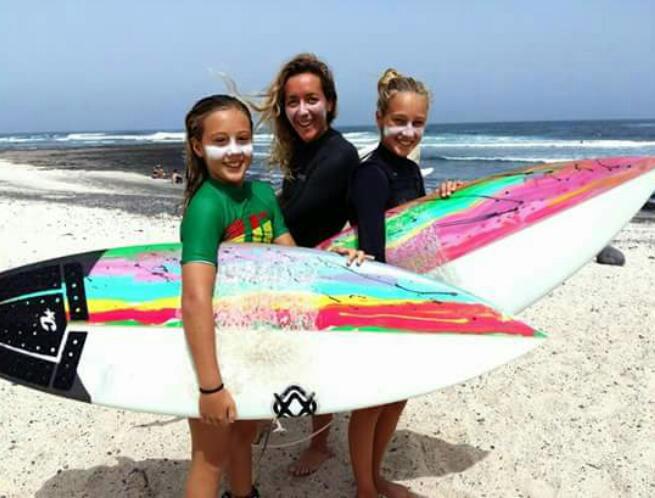 Surferas: Pili | Macaronesia Fuerteventura