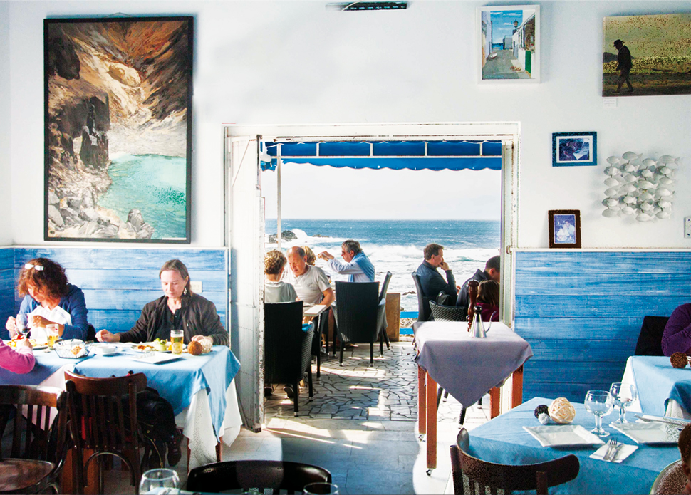 Vaca Azul Restaurant in El Cotillo | Macaronesia Fuerteventura