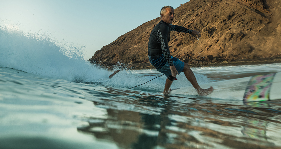 Míticos del surf: Juan José Lucas Cordero