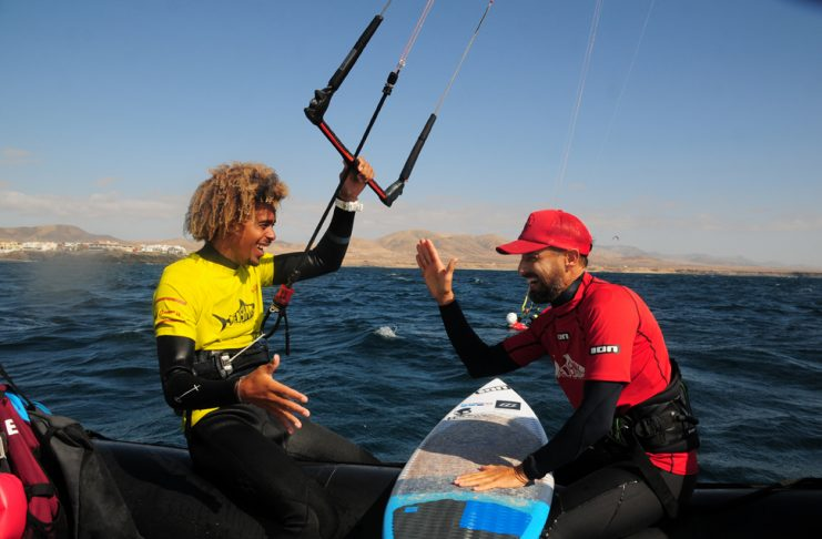 Kitesurfing: Matchu Lopes   Macaronesia Fuerteventura
