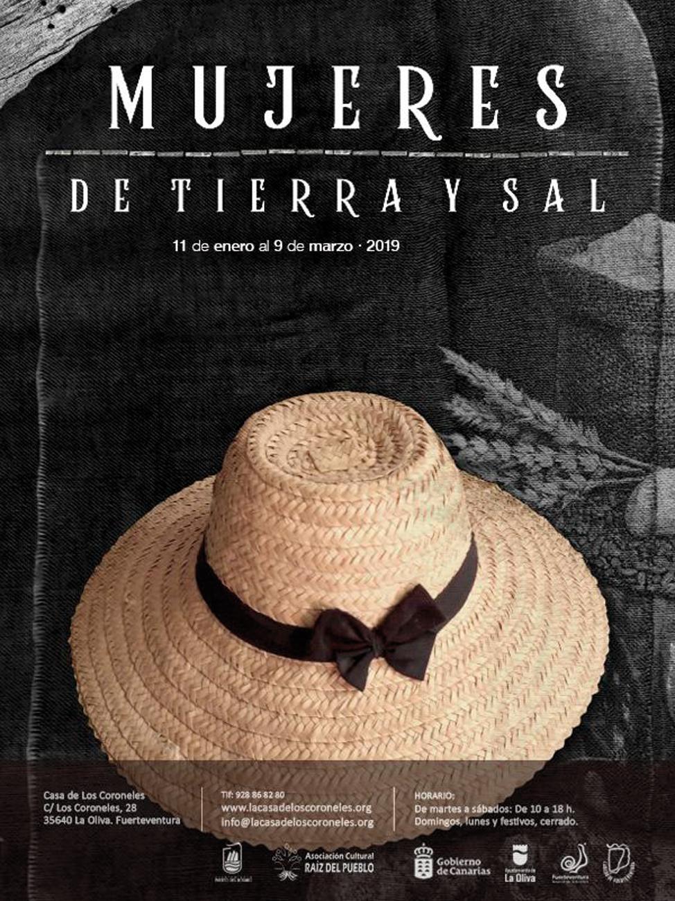 Exposición Casa de los Coroneles, Mujeres de Tierra y Sal | Macaronesia Fuerteventura