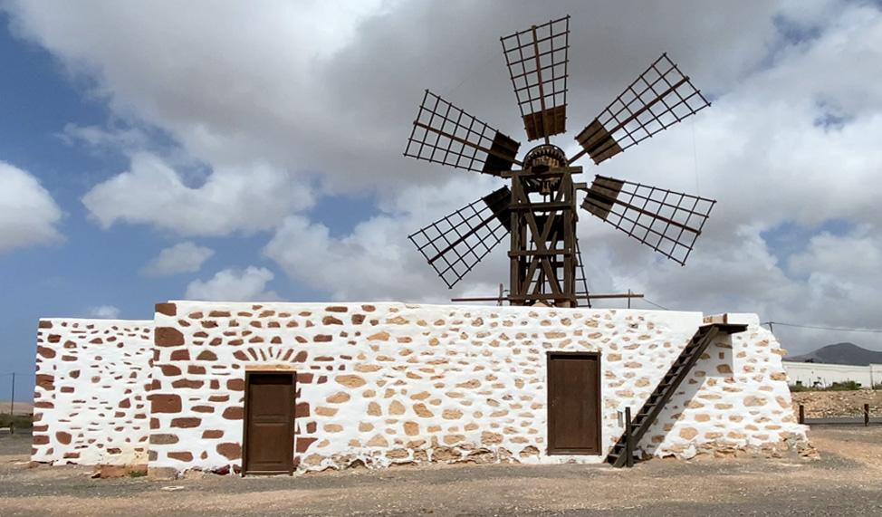 Molina de viento de Tefia | Macaronesia Fuerteventura