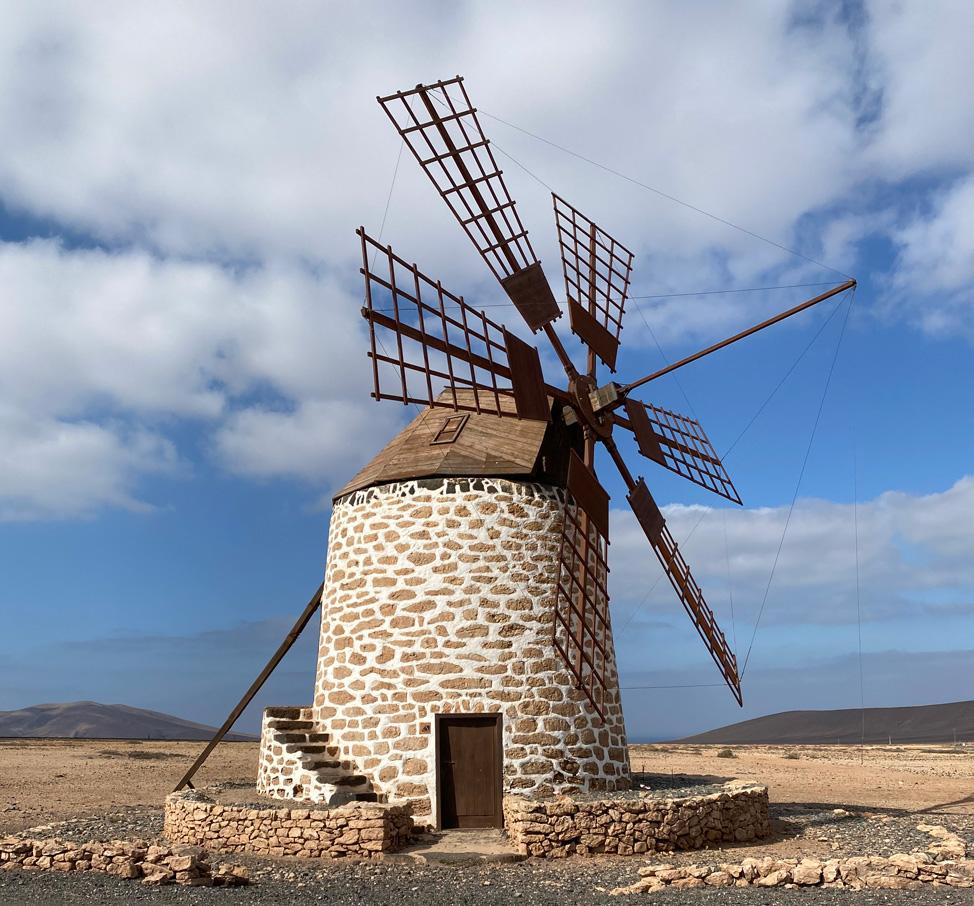 Molino de viento de Tefia | Macaronesia Fuerteventura