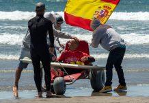 Marcos Tapia Adaptive Surf Spanish Champion | Macaronesia Fuerteventura