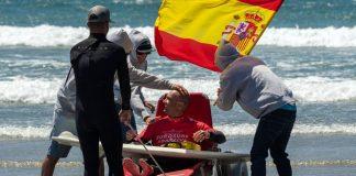 Marcos Tapia Adaptive Surf Spanish Champion   Macaronesia Fuerteventura