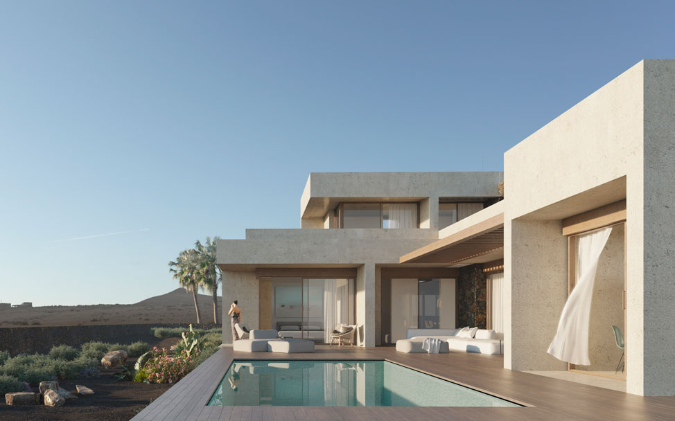 In love with the houses designed by MF Arquitectos | Macaronesia Fuerteventura