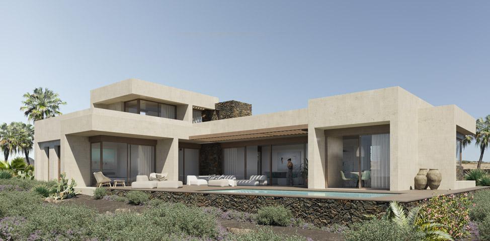 Casas adaptadas al estilo de vida de Fuerteventura y Lanzarote | Macaronesia Fuerteventura