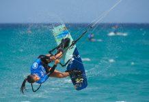 Alexandra Torres la nueva promesa majorera del kitesurf | Macaronesia Fuerteventura