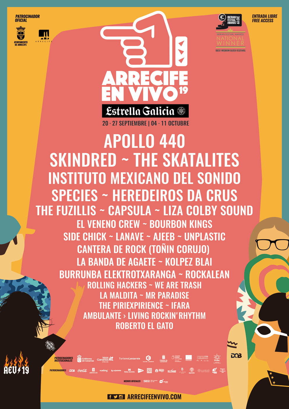 Festival Arrecife En Vivo Septiembre | Macaronesia Fuerteventura