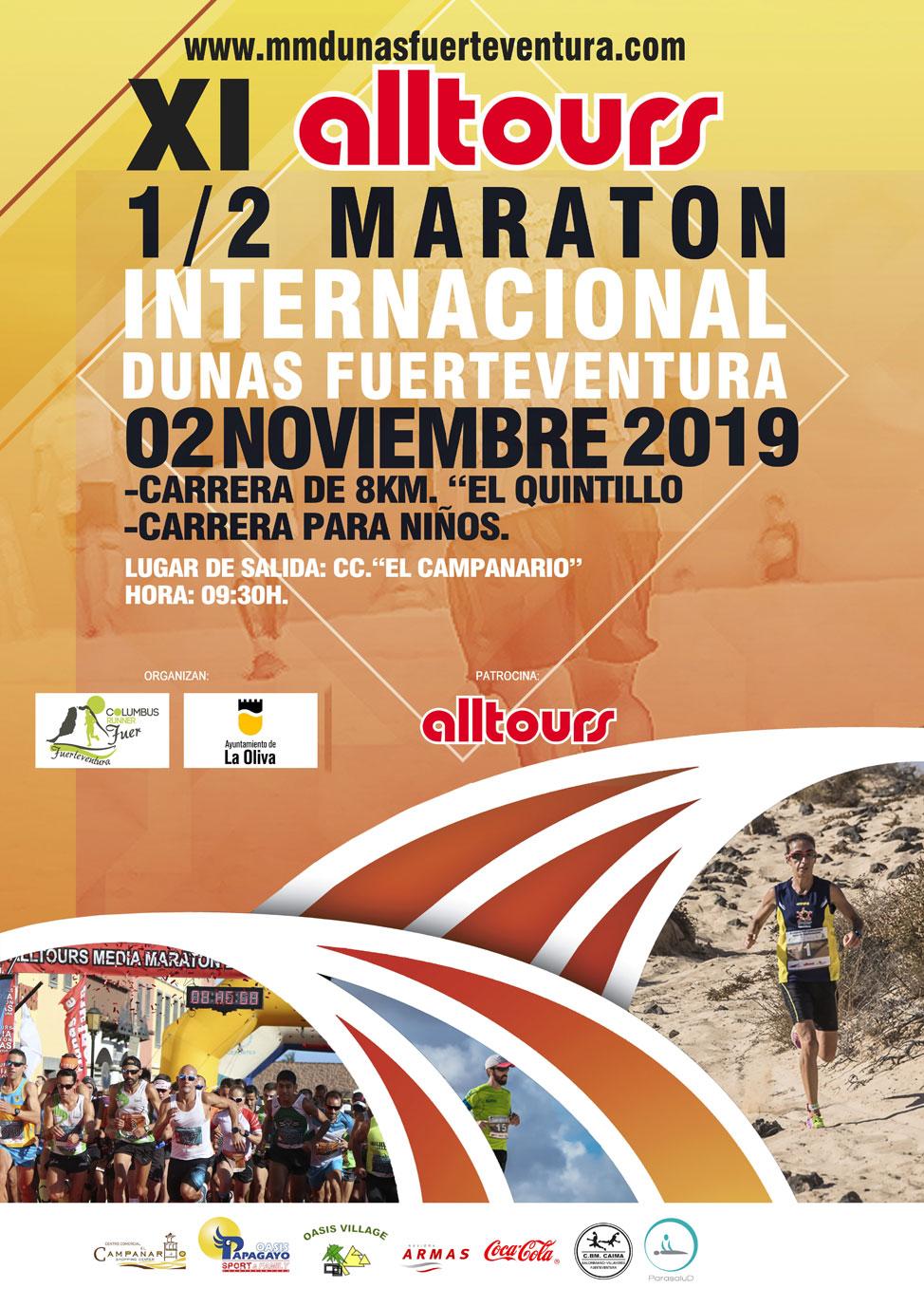 XI Alltours ½ Maratón Internacional Dunas Fuerteventura | Macaronesia Fuerteventura