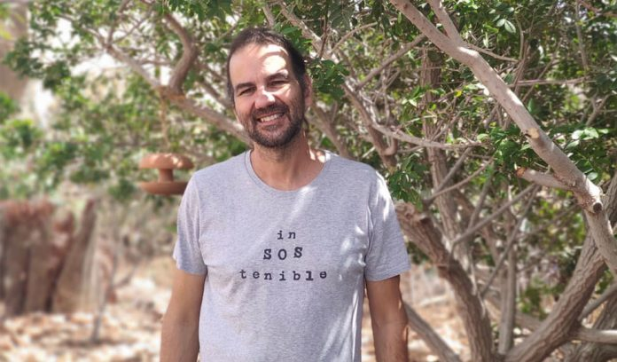 Pau Valverde spokesperson of `Fuerteventura por el Clima´