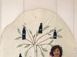 Verónica Silva, Embroidery as SUBVERSIVE ART in Fuerteventura