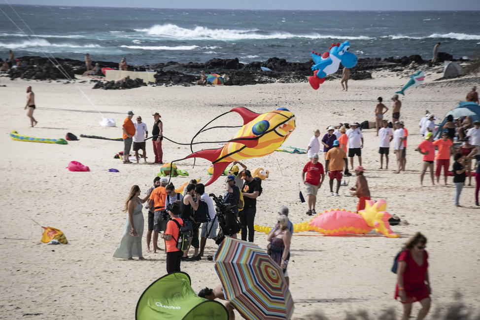 Festival Internacional de Cometas   Macaronesia Fuerteventura