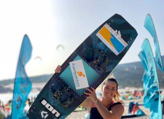 Julia Castro Christiansen, kite and wakeboard   Macaronesia Fuerteventura