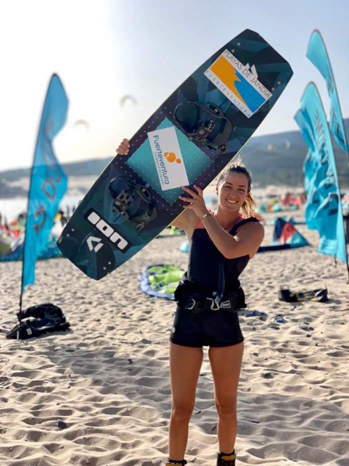 Julia Castro Christiansen, kite and wakeboard | Macaronesia Fuerteventura