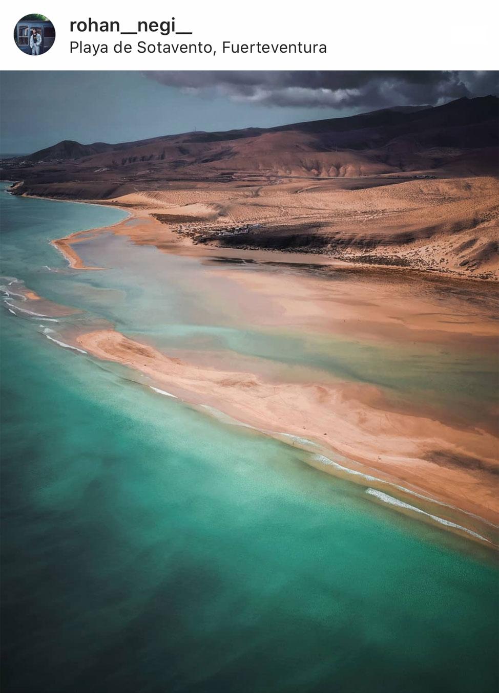 Fuerteventura a vista de pájaro | Macaronesia Fuerteventura