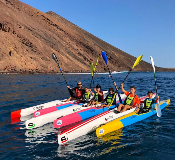 Great performance of Onexe team in the Surfski Cup of the Islands