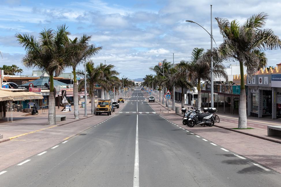 Así lucen estos días las playas de Corralejo   Macaronesia Fuerteventura