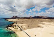 Dunas de Corralejo a vista de pájaro | Macaronesia Fuerteventura
