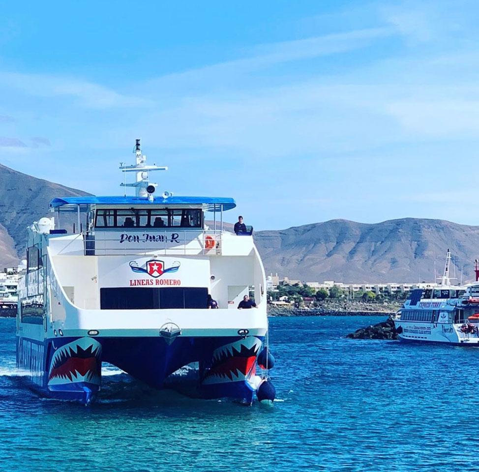 Rediscover Lanzarote and La Graciosa this summer with Líneas Romero | Macaronesia Fuerteventura