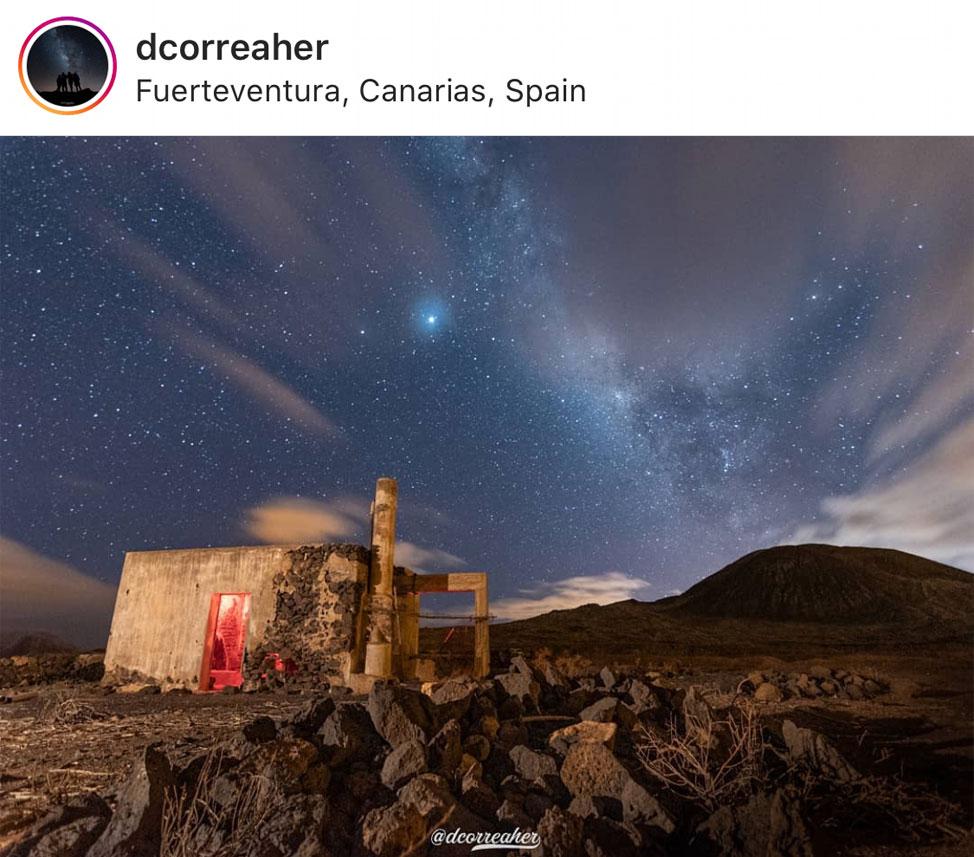 10 spectacular images of the magical nights of Fuerteventura | Macaronesia Fuerteventura