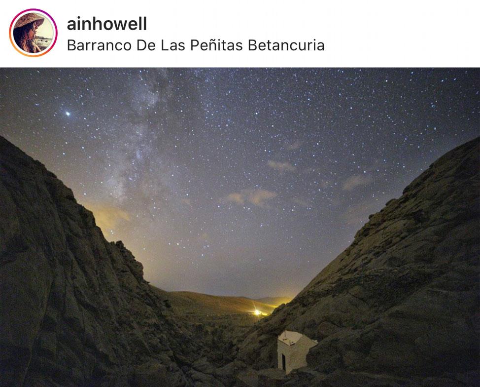 Espectaculares imágenes de las mágicas noches de Fuerteventura | Macaronesia Fuerteventura