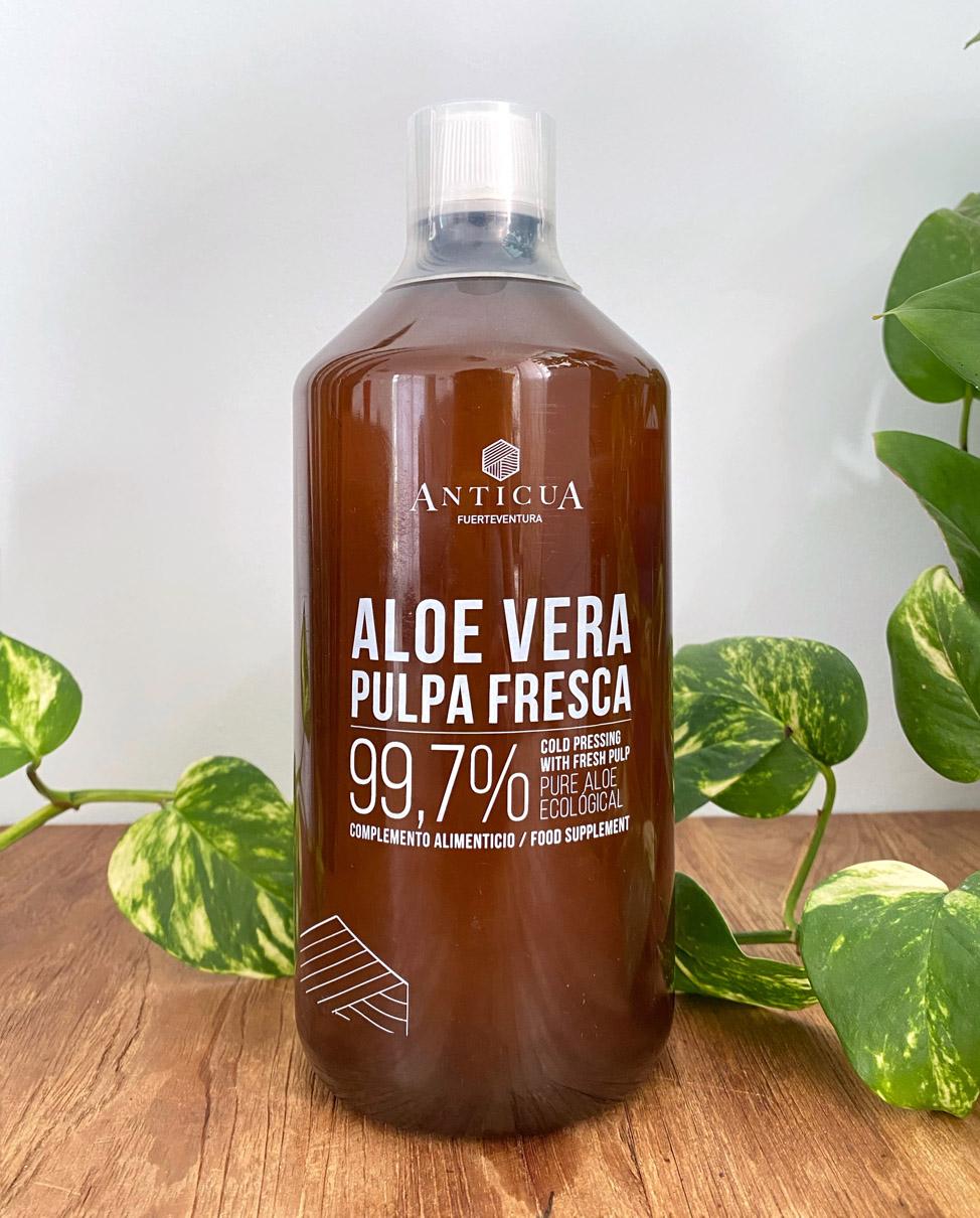 Gel Puro de Aloe Vera ANTICUA | Macaronesia Fuerteventura