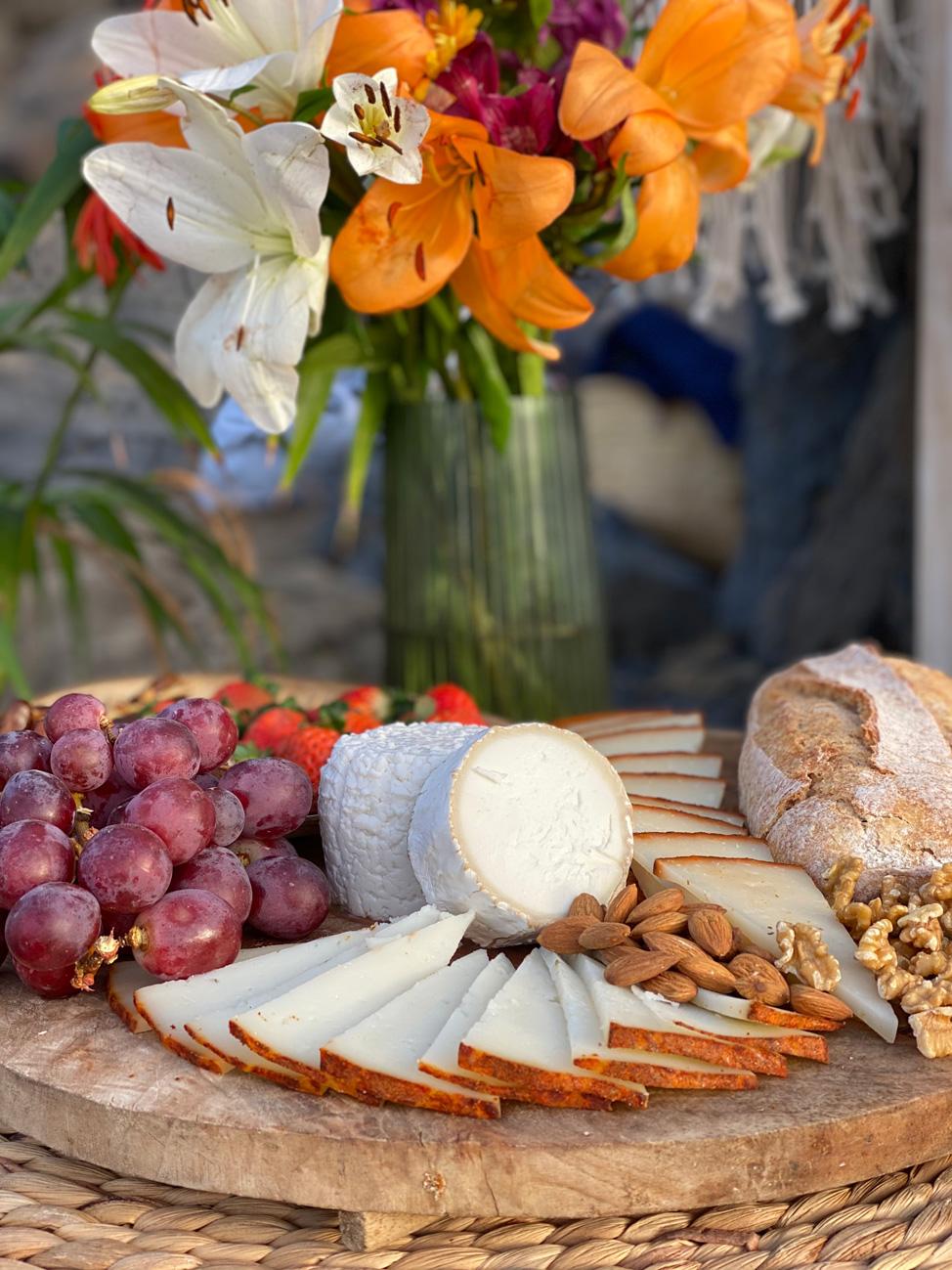 Detalle de Comida deliciosa de Coco y Bambú