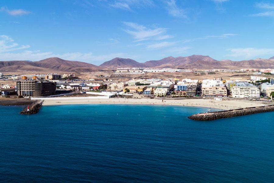 Playa de Los Pozos, bandera azul en El Cotillo | Macaronesia Fuerteventura