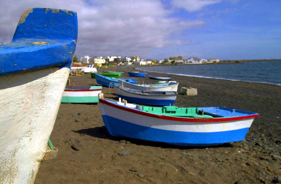 Puerto Lajas, bandera azul en El Cotillo | Macaronesia Fuerteventura