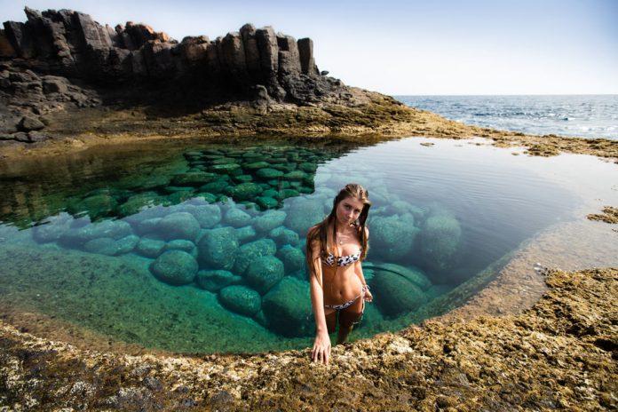 Natural Pool In Caleta de Fuste   Macaronesia Fuerteventura