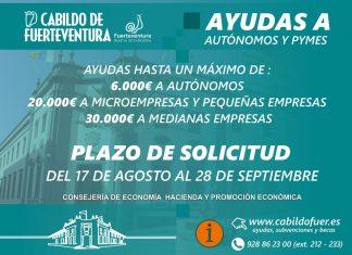 Ayudas a autónomos y pymes del Cabildo | Macaronesia Fuerteventura