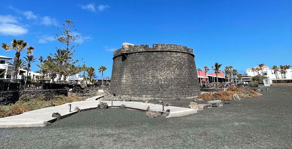 Castillo de San Buenaventura, Caleta de Fuste   Macaronesia Fuerteventura