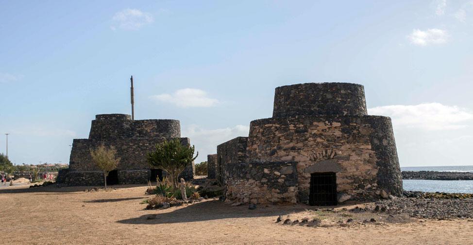 Lime Kilns in Caleta de Fuste, Antigua   Macaronesia Fuerteventura