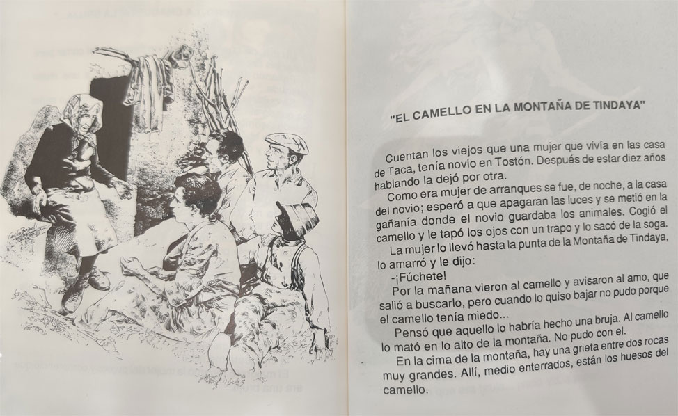 Tindaya mágica, leyendas | Macaronesia Fuerteventura