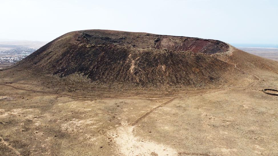 Volcán Calderón Hondo, Lajares | Macaronesia Fuerteventura