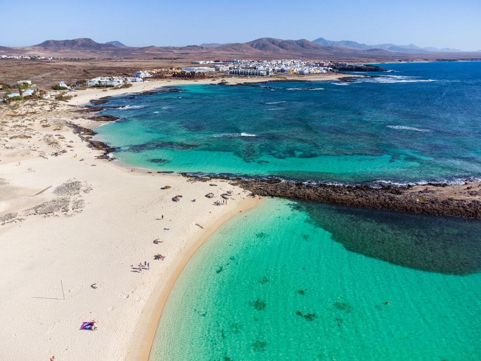 Playa de La Concha, El Cotillo   Macaronesia Fuerteventura